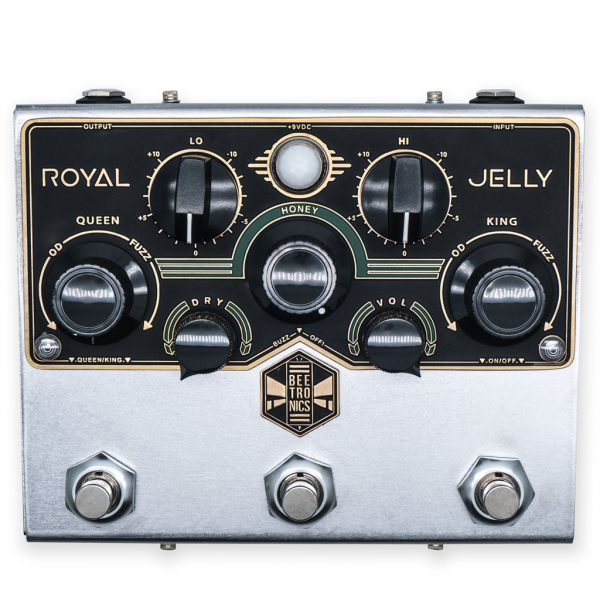 Pédale overdrive / distortion / fuzz Beetronics Royal Jelly Custom