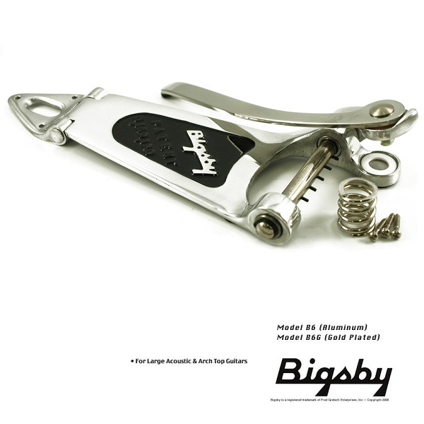 Vibrato complet Bigsby Vibrato Kit B6 Large Hollow Nickel
