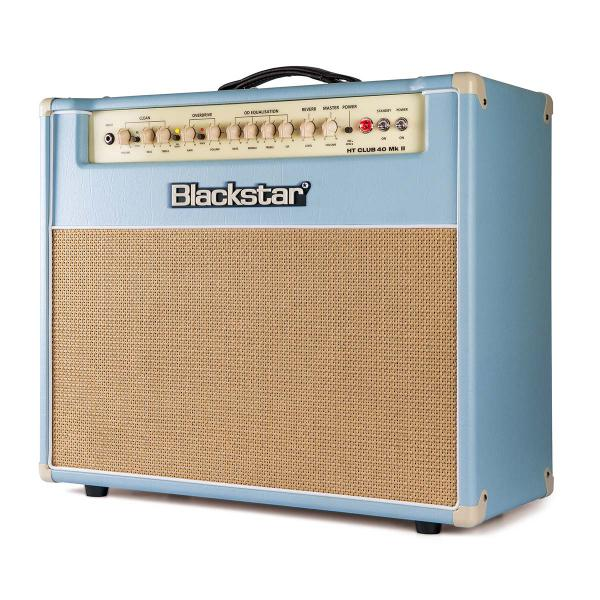 Combo ampli guitare électrique Blackstar HT CLUB 40 MKII BLACK AND BLUE SERIE LTD