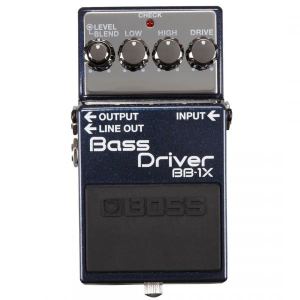 Pédale overdrive / distortion / fuzz Boss BB-1X Bass Driver