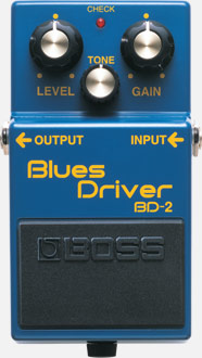 Pédale overdrive / distortion / fuzz Boss BD-2 Blues Driver