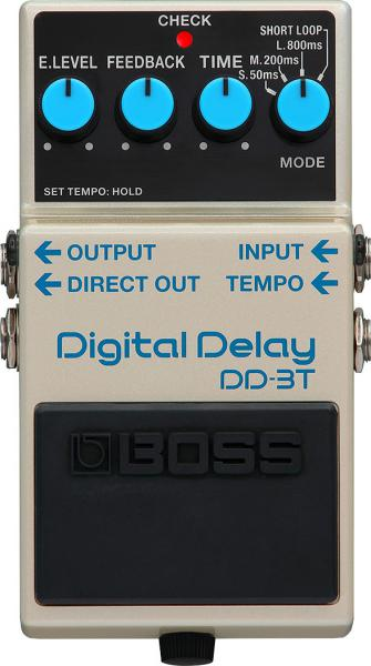 Pédale reverb / delay / echo Boss DD-3T Digital Delay