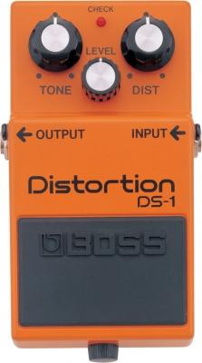 Pédale overdrive / distortion / fuzz Boss DS-1 Distortion