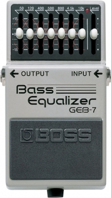 Pédale equaliseur / enhancer Boss GEB-7 Bass Equalizer