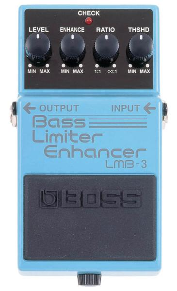 Pédale equaliseur / enhancer Boss LMB-3 Bass Limiter Enhancer