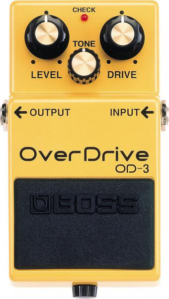 Pédale overdrive / distortion / fuzz Boss OD-3 Overdrive