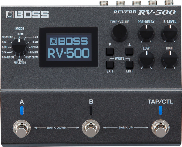Pédale reverb / delay / echo Boss RV-500 Reverb