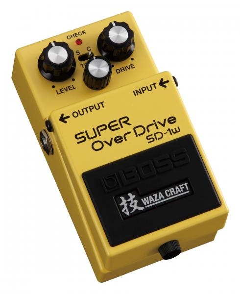Pédale overdrive / distortion / fuzz Boss Waza Craft SD-1W Super Overdrive