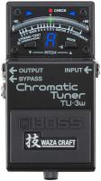 Accordeur en pedale Boss TU-3W Chromatic Tuner