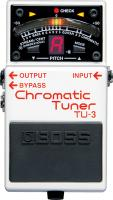 Accordeur en pedale Boss TU-3 Chromatic Tuner
