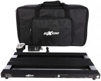 Pedal board flight pour effet Boxking PB4828A Powered Rechargeable Pedalboard +Bag