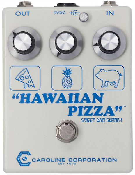 Pédale overdrive / distortion / fuzz Caroline guitar Hawaiian Pizza Fuzz
