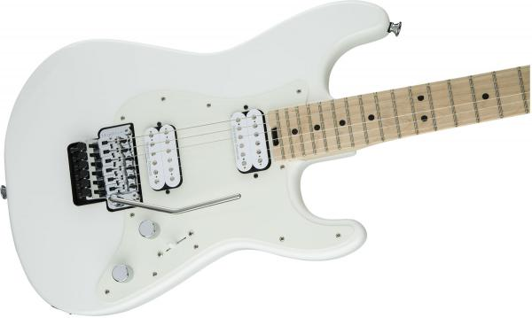 Guitare électrique solid body Charvel Pro-Mod So-Cal Style 1 HH FR M - snow white