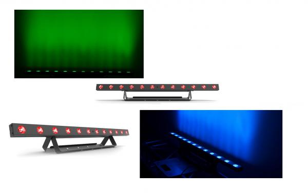 Pack eclairage Chauvet dj 2 x Colorband T3 BT+