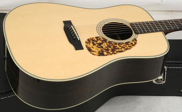 Guitare folk Collings D2H Custom (#26377) - natural aged toner
