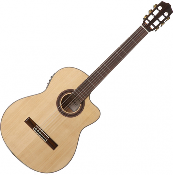 Guitare classique format 4/4 Cordoba Gipsy Kings GK Studio Negra - natural