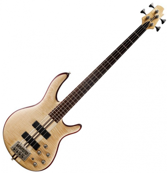 Basse électrique solid body Cort A4 Plus FMMH OPN - Naturel