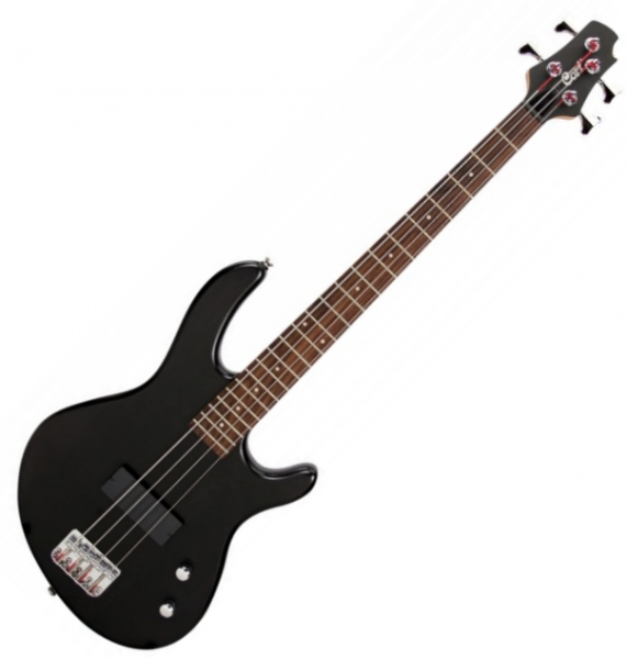 Basse électrique solid body Cort Action Junior - noir