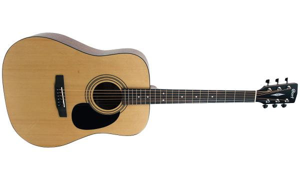 Guitare folk & electro Cort AD810 - natural open pore