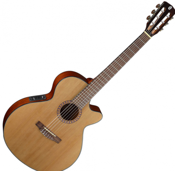 guitare classique format 4 4 cort cec5 natural gloss star 39 s music. Black Bedroom Furniture Sets. Home Design Ideas