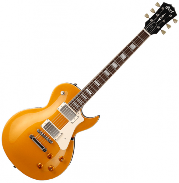 Guitare électrique solid body Cort CR200 GT - gold top - Gold top