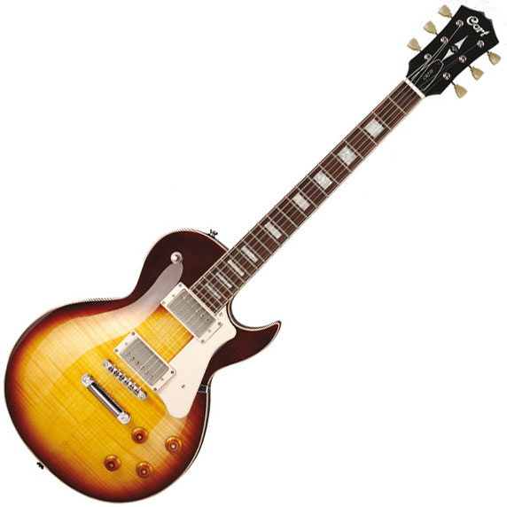 Guitare électrique solid body Cort CR250 Classic Rock - Vintage burst