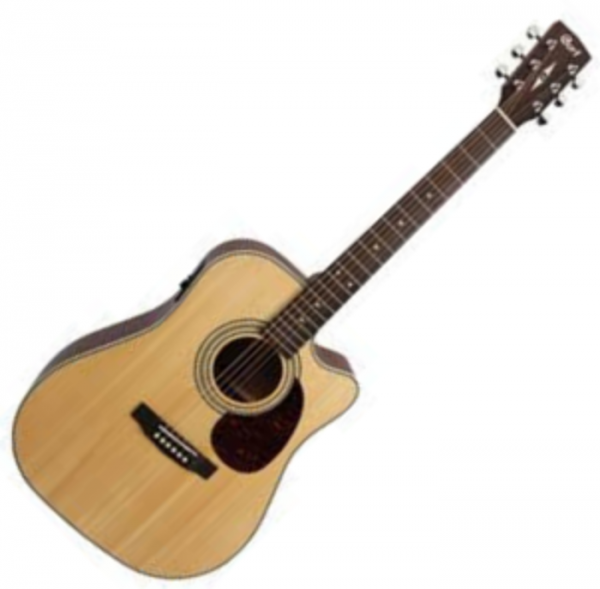 Guitare folk & electro Cort Earth 70CE - Natural open pore