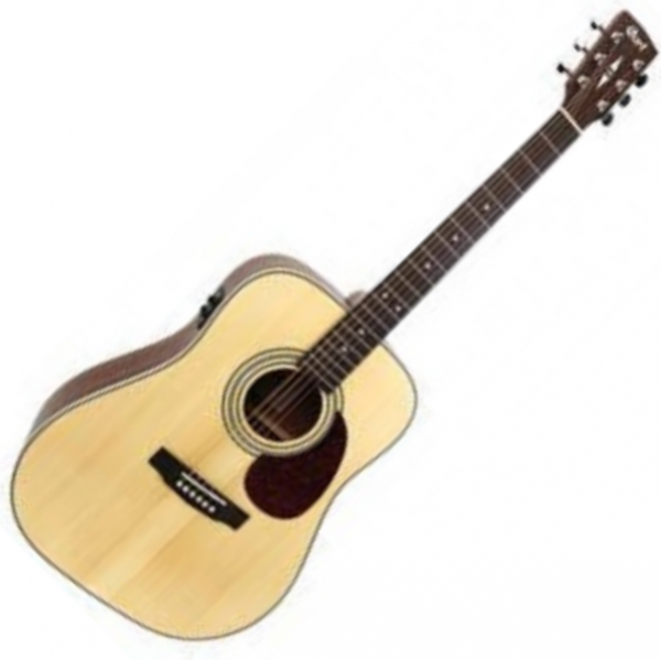 Guitare folk & electro Cort Earth 70F - Natural open pore