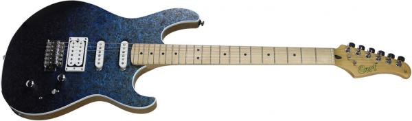 Guitare électrique solid body Cort G-LTD18M OPB - open pore blue