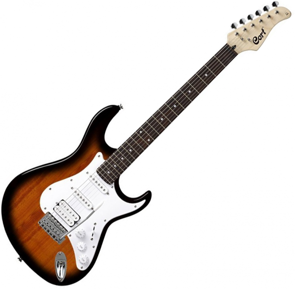 Guitare électrique solid body Cort G110 2TS - 2 tone sunburst