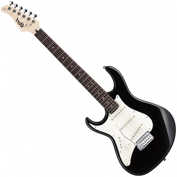Guitare électrique solid body Cort G200L BK Gaucher - Black
