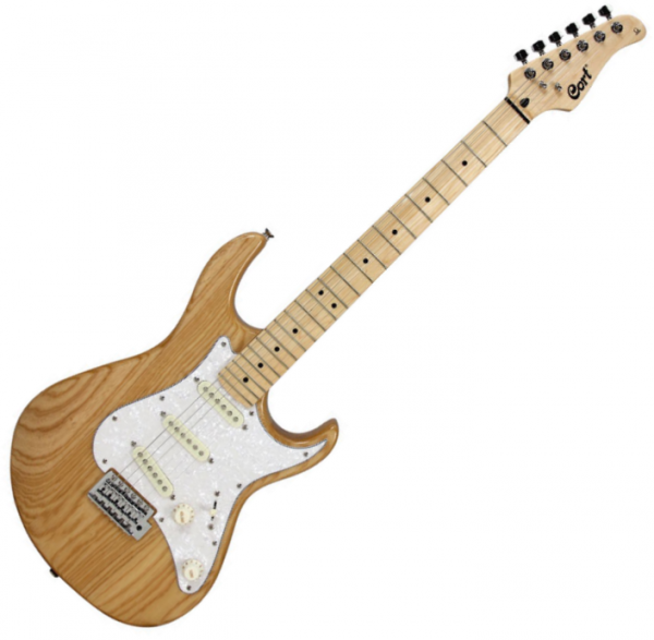 Guitare électrique solid body Cort G215 NAT - Natural