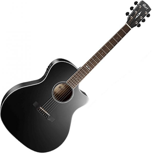 Guitare folk & electro Cort Grand Regal GA5F BK - Black