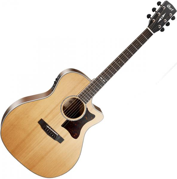 Guitare folk & electro Cort GA5F-BW NS - Natural satin