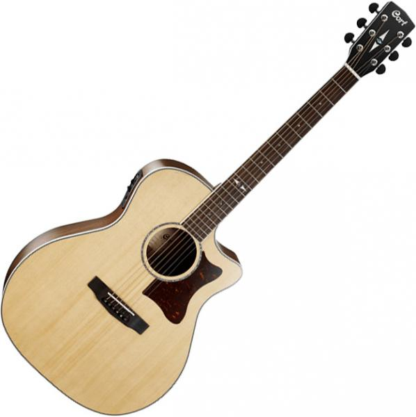 Guitare folk & electro Cort GA5F-MD NAT - Natural gloss