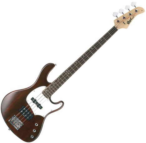 Basse électrique solid body Cort GB34A - Walnut satin