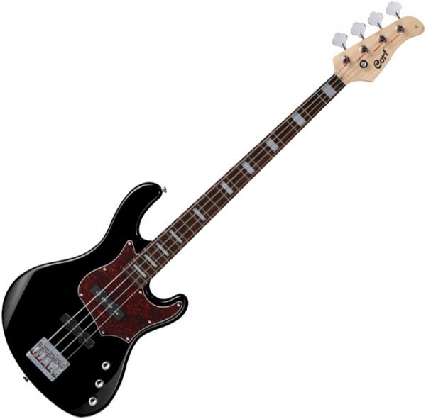 Basse électrique solid body Cort GB34J BK - Black