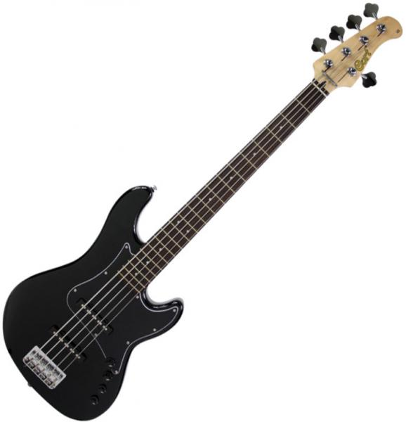 Basse électrique solid body Cort GB35JJ BK - black