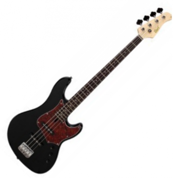 Basse électrique solid body Cort GB54 Alder - Noir brillant