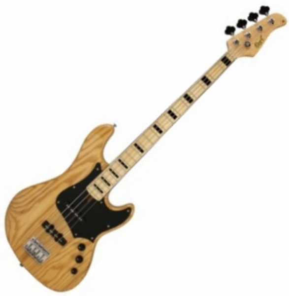 Basse électrique solid body Cort GB54 Ash - Gloss natural
