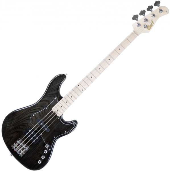 Basse électrique solid body Cort GB74JH TBK - trans black