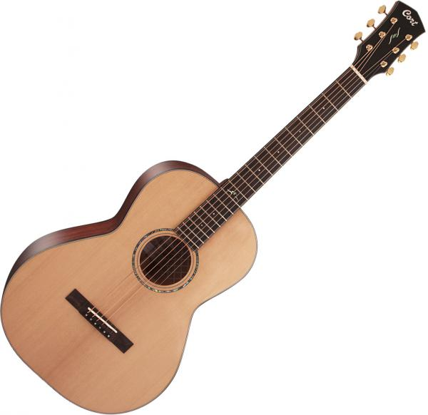 Guitare folk & electro Cort Gold-P6 - natural