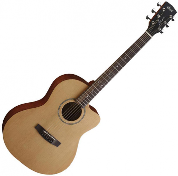 Guitare folk & electro Cort Jade 1 - Natural open pore