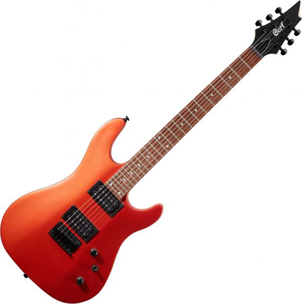 Guitare électrique solid body Cort KX100 - iron oxyde