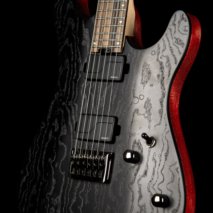 Guitare électrique solid body Cort KX500 - etched black