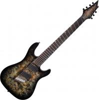 Guitare électrique multi-scale Cort KX500FF - Star dust black