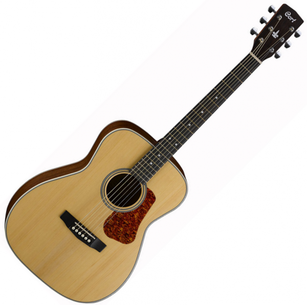 Guitare folk & electro Cort L100C - Natural satin