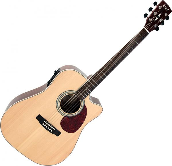 Guitare folk & electro Cort MR710FX - Natural gloss