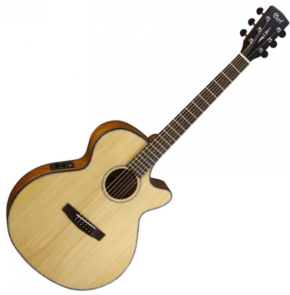 Guitare folk & electro Cort SFX-E NS - Natural satin