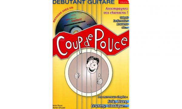 coup de pouce d butant guitare acoustique volume 1 cd star 39 s music. Black Bedroom Furniture Sets. Home Design Ideas